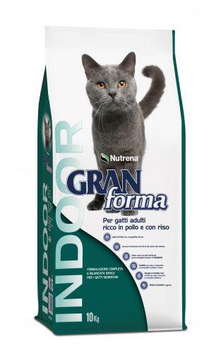 Nutrena Gran Forma Cat Adult Indoor con Pollo & Riso 10kg